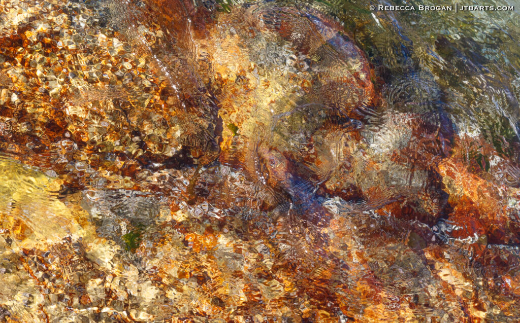 Abstract Water Pattern, Friendly Beaches, Freycinet National Park, Tasmania