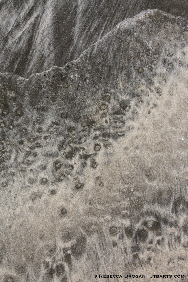 South Coast Track, Tasmania, Southwest National Park, abstract sand pattern