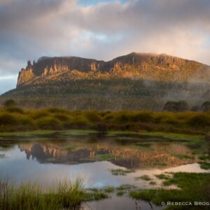 Mt Oakleigh New Pelion Hut Overland Track Cradle Mountain Lake St Clair National Park Tasmania