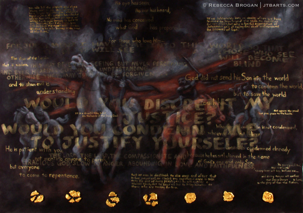 The Four Horsemen of The Apocalypse Revelation 6
