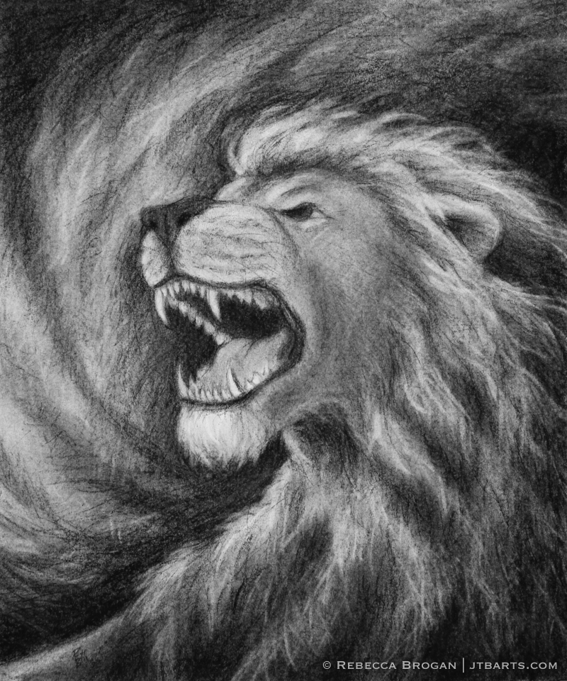 The Lion of Judah Roaring Revelation 5 5