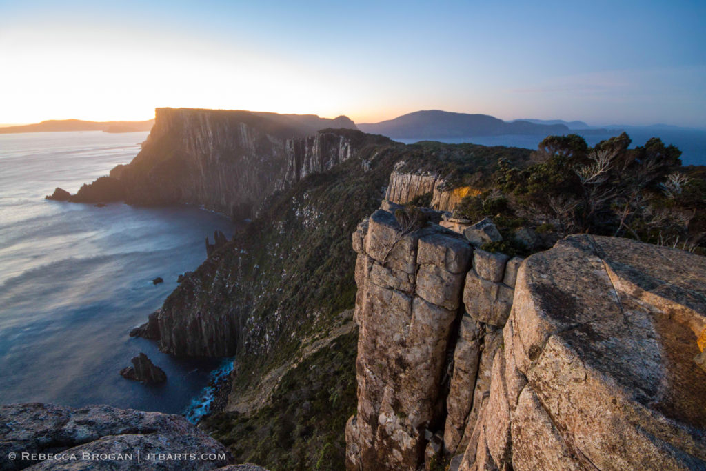 Cape Pillar, Three Capes Track walk, Tasmania