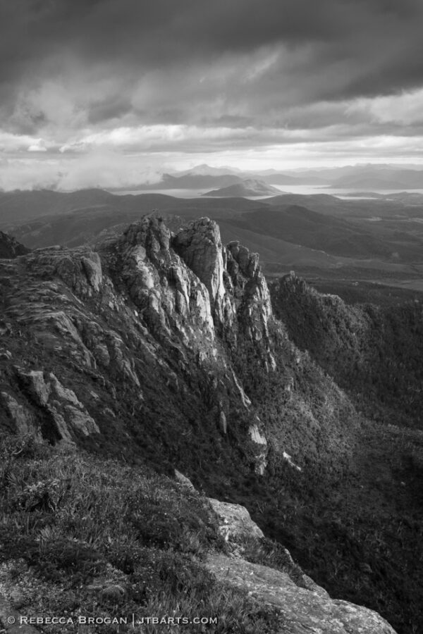 Western Arthurs Range, Southwest National Park, Tasmania