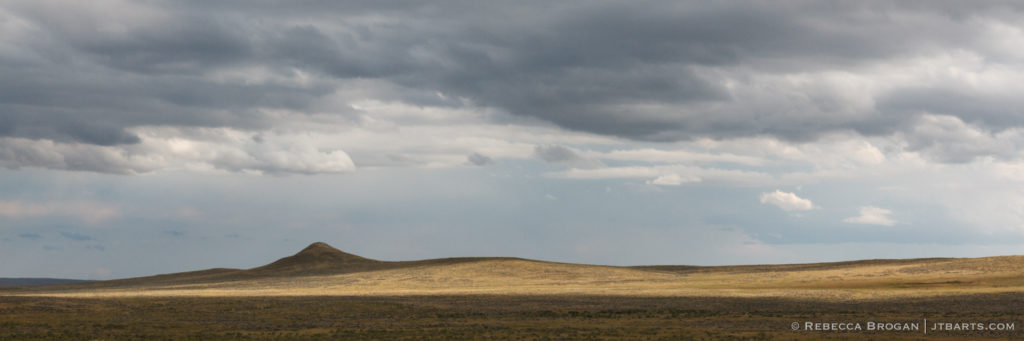 Lone Hill in The Great Plains Panorama